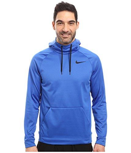 - Nike Therma Men's Training Hoodie 826671-480 Game Royal/Black Size (Large)