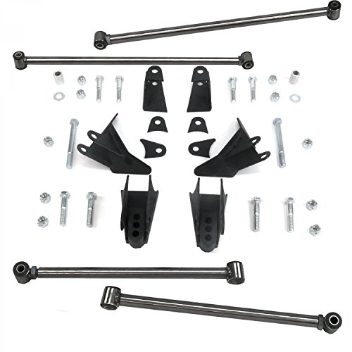 Helix 733245 Triangulated 4-Link Kit (Chevy Truck S10 1994-2004 Heavy Duty)