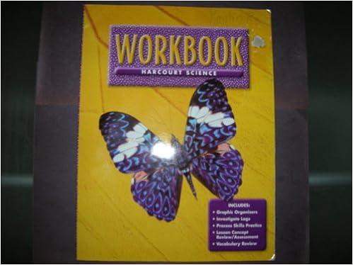 Harcourt School Publishers Science: Workbook Grade 3: HARCOURT ...