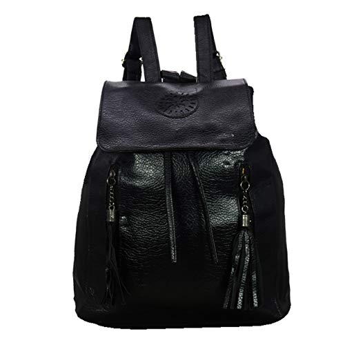 KEKEMI LTB062 16 L Designer Leather Backpack for Girls  Maroon