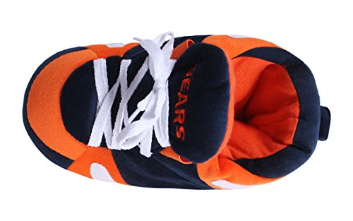 Happy Feet & Comfy Feet - OFFICIALLY LICENSED Mens and Womens NFL Sneaker Slippers Chicago Bears y1RNvjOWu