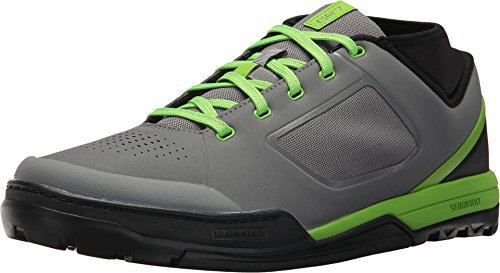 SHIMANO SH-GR7 Mountain Bike Shoe - Men's Grey/Green; 45