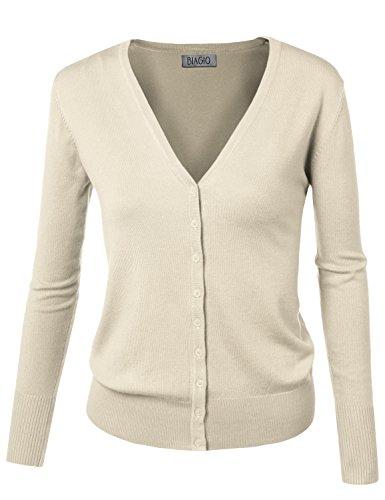 Ivory Cardigan Sweater - 3
