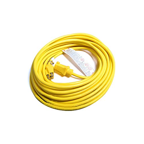 TVP Fit All, Commercial Vacuum Cleaner 14X3 50ft Yellow Cord Assemble # 14-5424-01