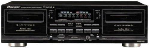 Pioneer CT-W208R - Grabadora (20 - 16500 Hz, VFD, Negro, 220 - 230 ...