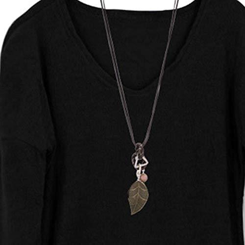 Longues Vrac Femme V Noir Dcontracte Pure Sweat Shirt Couleur Polaire en Toison T Shirt Set Manches en Chemisier Col Chemisier avec Rovinci w0dHXx1qgX