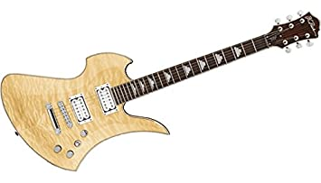 Guitarras eléctricas BC Rich Mockingbird Contour Deluxe Brillo Natural Metal – Moderno