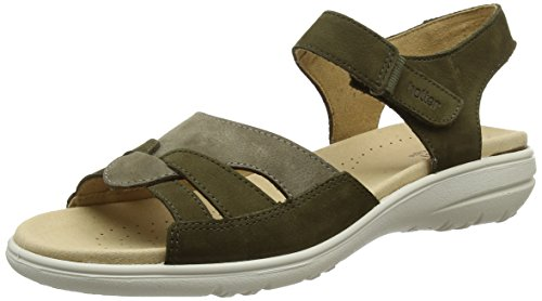Hotter Loden Sandals Women's Green Madeline Multi H76Hqrw