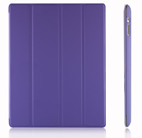 iPad Case, JETech Gold Folio Case Cover with Back Case for Apple iPad 4 & 3 (3rd and