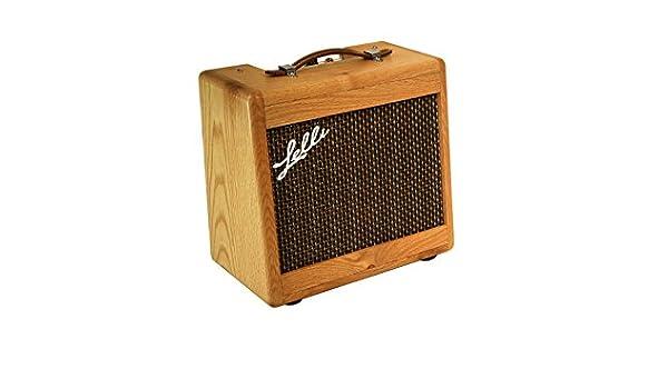 Amplificador a válvulas 5W handmade en madera de roble - Made in ...