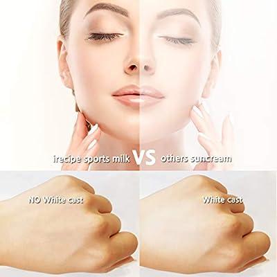 I+Recipe Triple Care Sunscreen Sports Sun Milk SPF 50+PA+++, Whitening, Anti-wrinkle, UV protection triple function (30 ml / 1.01 fl.oz)