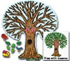 Big Tree Kid-drawn Bulletin Board Cut Out Set - Kid Drawn Bulletin Board