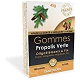 Propos Nature - Gommes Propolis Verte Et Oligoéléments - Pin - Sans Sucres