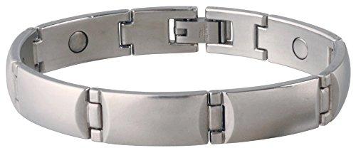 (Sabona Steel Magnetic Bracelet, Large/X-Large)