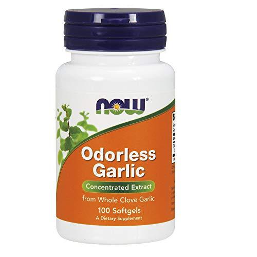 Cheap NOW Odorless Garlic,100 Softgels