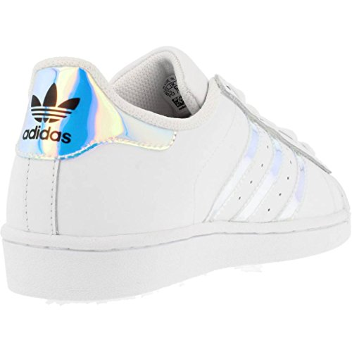 J adidas Unisex FTWWHT FTWWHT METSIL Superstar Top Kinder Low ftvtwPq