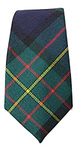100% Wool Authentic Traditional Scottish Tartan Neck Tie - Maclaren Modern