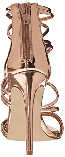 Steve Madden Womens Santi Dress Sandal Rose Gold