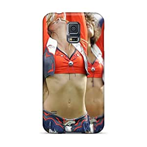 Tpu Shockproof/dirt-proof Denver Broncos Cheerleaders 2013 Nfl Cover Case For Galaxy(s5)