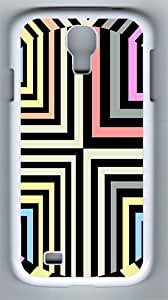 Samsung Galaxy S4 Case and Cover- Optical Illusion PC Hard Case for Samsung Galaxy S4 / SIV/ I9500 White