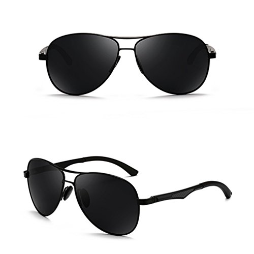 Personas de Sol de de de Afluencia Conducción Personalidades Sol Gafas Miopía Espejo Gafas Ojos Sol Hombres Conducción 2018 de Gafas ZQ Polarizador Gafas 6T54x
