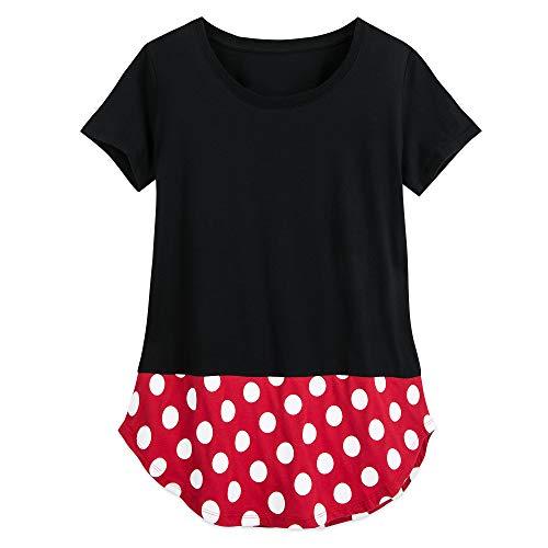 Disney Ladies Costumes (Disney Minnie Mouse Costume T-Shirt for Women Size Ladies 2XL)
