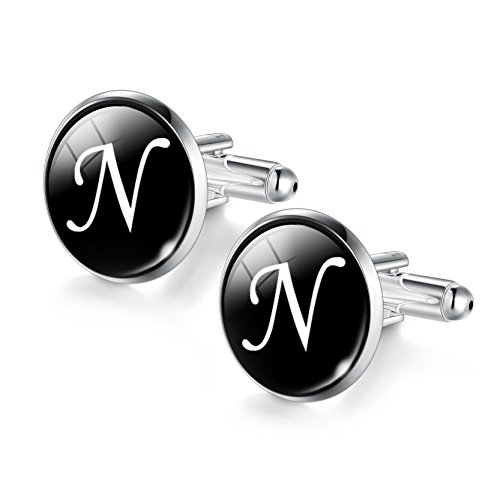 Handsome Business Suit Cufflinks Nice Glass Jewel N Pattern Cuff Links for - Which Suit Me Glasses