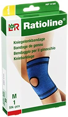 RATIOLINE active Kniegelenkbandage M, 1 St