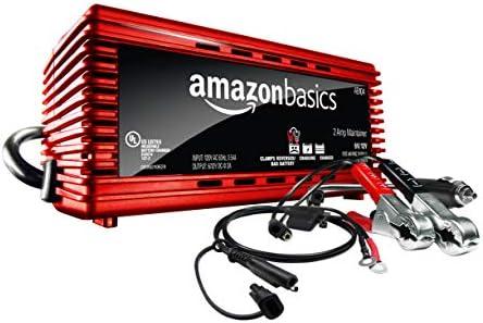 Amazon Basics Battery Charger 12 Volt 2A