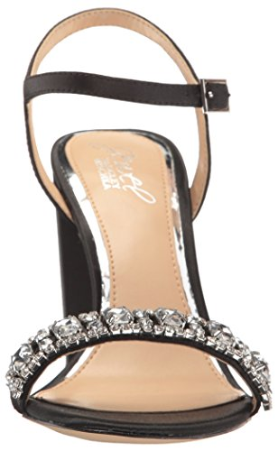 Badgley Mischka Womens Hendricks Heeled Sandal Black kspuZ