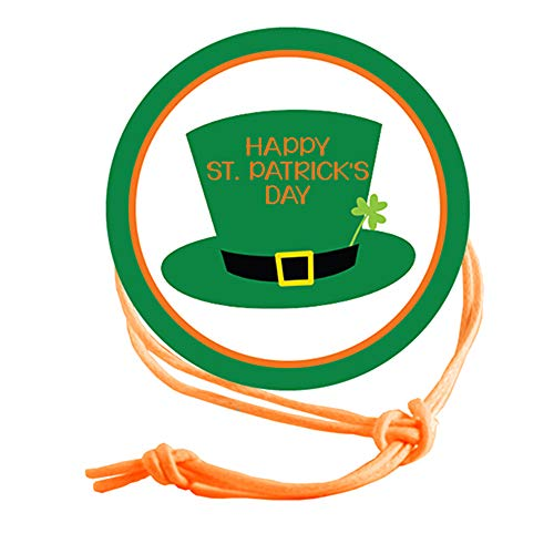 Napkin Knots St. Patrick's Day Napkin Ring - Top Hat (Pack of 10) (Standard)