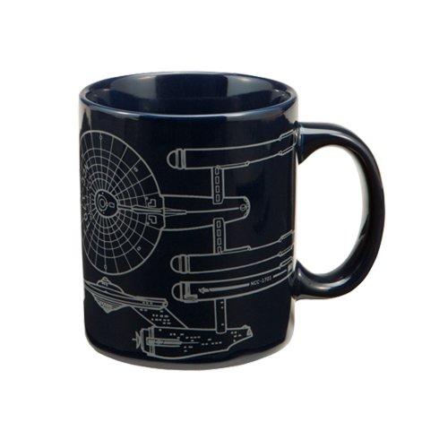 Star Trek Enterprise 12-Ounce Ceramic Mug