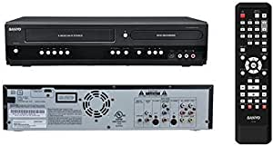 Sanyo DVD / VCR Recorder and Player Combo - 2-Way Recording - VHS to DVD, DVD to VHS (Renewed)