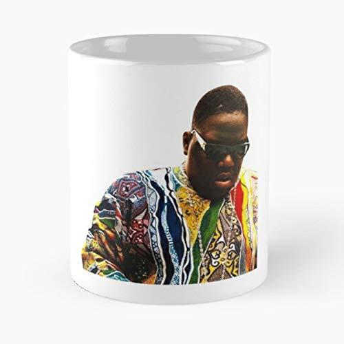 Notorious B I G Biggie Smalls Fashion - White -coffee Mug- Unique Birthday Gift-the Best Gift For Holidays- 11 Oz.