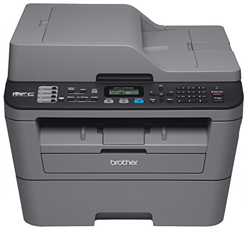 Brother Printer EMFCL2700DW Wireless Monochrome Printer with Scanner, Copier & Fax (Certified Refurbished) by Brother