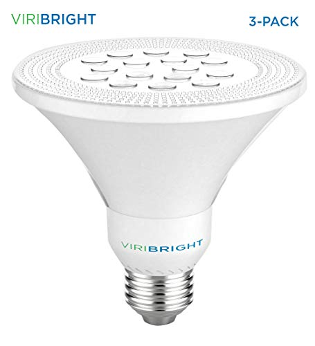 Viribright 9W PAR30 LED Bulb Light, 75W Equivalent, 800 Lumens, Cool White 4000K, E27 Base, 60°Beam Angle Spotlight, for Indoor 3 ()