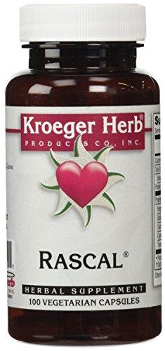 Kroeger Herb Rascal Capsules, 100 Count (Rascal 100 Capsules)