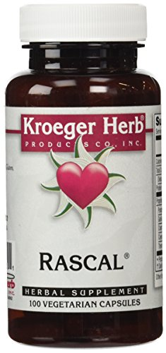 100 Herb Kroeger Capsules (Kroeger Herb Rascal Capsules, 100 Count)
