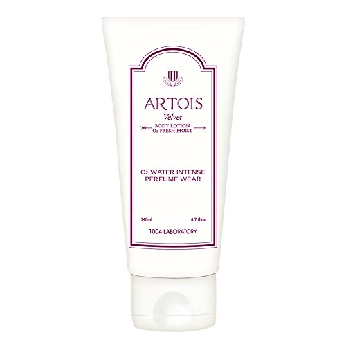 Korean Perfume Body Lotion Cream Moisturizer Firming Natural Light for Women with Dry Sensitive Skin | Artois VELVET O2 Oxygen Fresh 1004LABORATORY | 4.7 fl.oz Rose & Ode -  Amaranth cosmetics co., ltd., PR-COM-RT-X975199