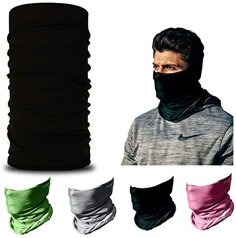 Neck Gaiter Half Face Mask Scarves Sun Protection for Fishing Cycling UPF 30