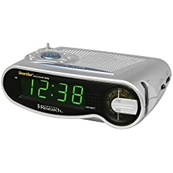 Emerson Radio CKS1701 SmartSet AM/FM Clock Radio with Large LED Time Display (Discontinued by Manufacturer)