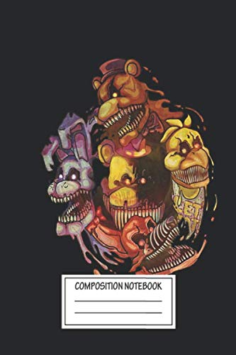 Halloween Animatronics Fnaf (Notebook: Five Nightmares Of Freddy's , Journal for Writing, Size 6
