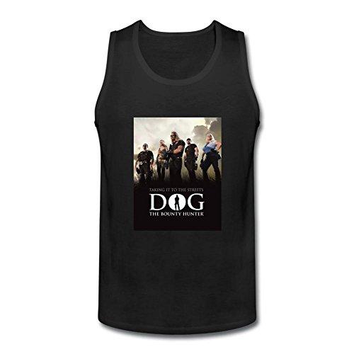ZHENGXINGZHENGXING Men's Dog the Bounty Hunter Reality TV Logo tank tops Size L