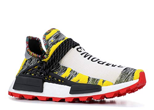 adidas Originals Pharrell x NMD  Solar Pack  Shoe Men s Casual 10 White-Core  Black-Red White Core Black Red be568d942cc37