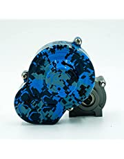SCX10 Metal Gearbox - (Blue Digital camo) 48P
