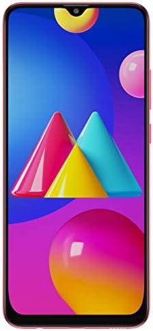 Samsung Galaxy M02s (Red,4GB RAM, 64GB Storage)   5000 mAh   Triple Camera