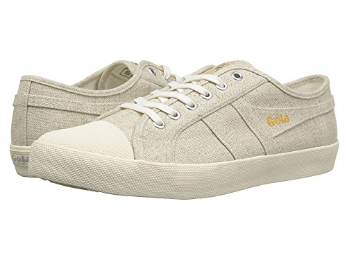 Gola  Men's Coaster Linen Oatmeal/Off-White Athletic Shoe