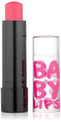 Maybelline New York Baby Lips Balm Electro, Pink Shock, 0.15 Ounce