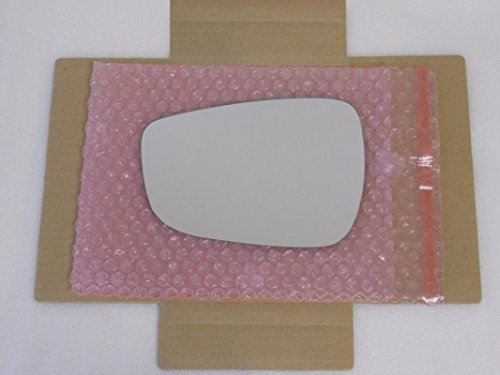 HEATED Mirror Glass with BACK PLATE for Hyundai Elantra Veloster Accent Driver Side View Left -