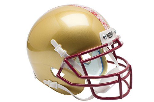 Boston College Football Helmet (NCAA Boston College Eagles Stained Glass Mini Helmet, One Size)